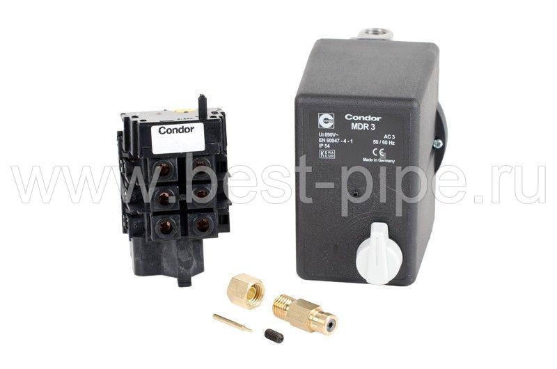 Condor MDR 3/11 250V реле давления для компрессора (прессостат, пневмореле)