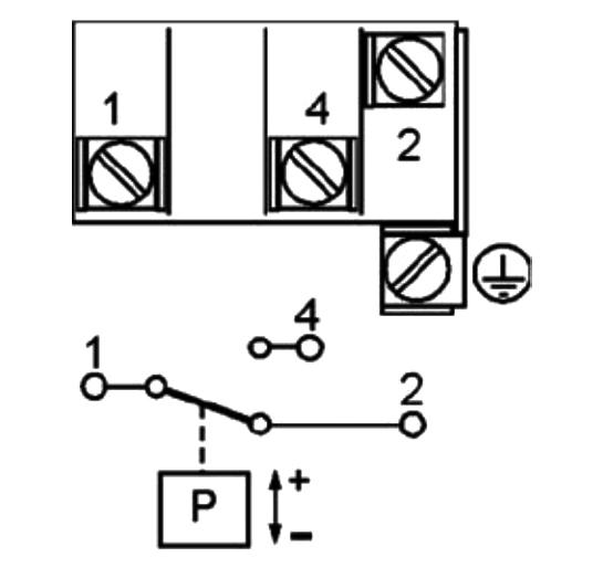 Реле давления схема подключения
