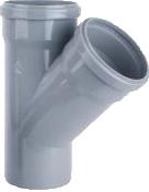 Тройник ПВХ внутренняя канализация